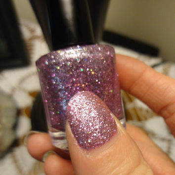 Orchid CustomBlended Nail Polish by parissparkles on Etsy