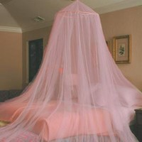 """Solid Canopy - Pink (96"""")"""