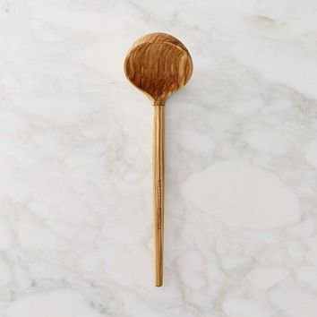 Williams Sonoma Olivewood Ladle