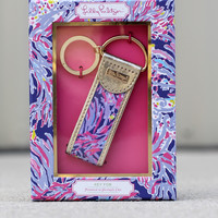 Lilly Pulitzer Key Fob: Shrimply Chic