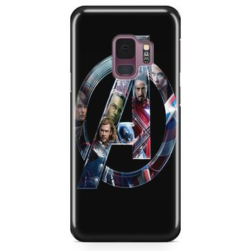 The Avengers Iron Man Tony Stark Samsung Galaxy S9 Plus Case | Casefantasy