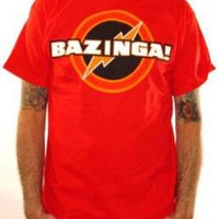 Big Bang Theory, T-Shirt, Bazinga Red
