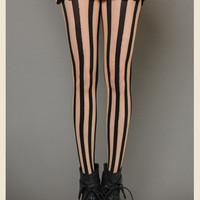 LINGERING LINES FULL LENGTH VERTICAL STOCKINGS