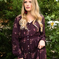 Gilman Canyon Floral Dress