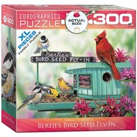 Bertie's Bird Seed Fly-In - 300 Piece Jigsaw Puzzle