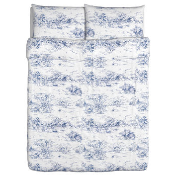 EMMIE LAND Duvet cover and pillowcase IKEA