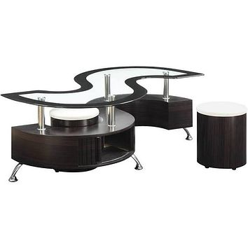 Dark Brown Cappuccino Coffee Table