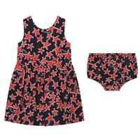 Armani Baby Girls Starfish Dress & Bloomers Set