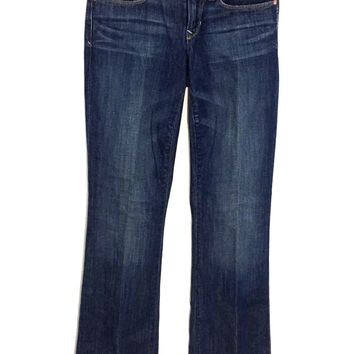 Gap 1969 Sexy Boot Jeans Medium Tint Stretch Womens Size 24 / 00 R - Preowned