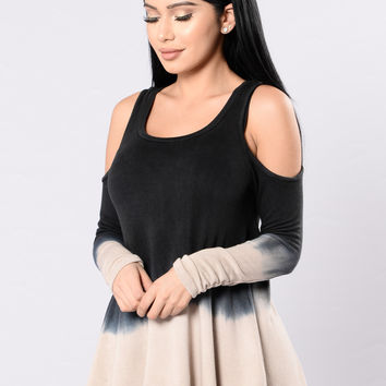 Layers To This Top -Black