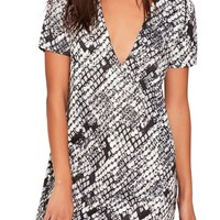 Missguided Plunge T-Shirt Dress | Nordstrom