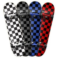 Checkered Complete Skateboard