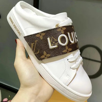 Louis Vuitton LV Alphabetic Magic Sticker Half Slipper