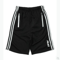 Sports Zippers Pants Shorts [10269442055]