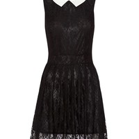 Mela Loves London Lace Collared Dress