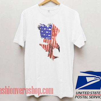 Red White and Blue Eagle Unisex adult T shirt