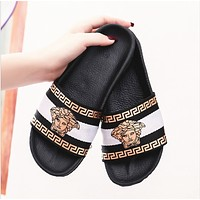VERSACE Fashion womne flat casual casual slippers