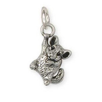 Sterling Silver Chinchilla Charm Jewelry  CL14-C