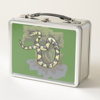 Hanging Snake Metal Lunch Box