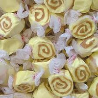 Caramel Cheesecake Salt Water Taffy 1/2 lb Bulk