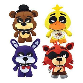 "Party Favors Limited Plush Five Nights at Freddy's Jumbo 9-12""- 4 Pcs Set"