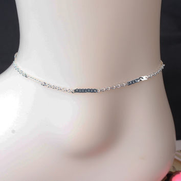 Cute Gift Jewelry Shiny New Arrival Stylish Sexy Ladies Accessory Summer Hot Sale 925 Silver Anklet [8080500871]