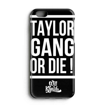 """Apple Iphone 6 4.7"""" Case - The Best 3d Full Wrap Iphone Case - Wiz Khalifa Taylor Gang Or Die"""