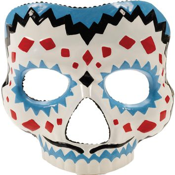 Day Of The Dead Male Mask for Halloween