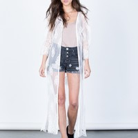 Pretty in Lace Duster
