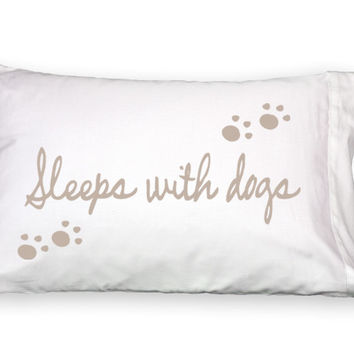 Faceplant Pillowcases (Sleeps with Dogs)
