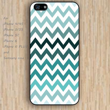 iPhone 6 case chevron Gradient color blue colorful iphone case,ipod case,samsung galaxy case available plastic rubber case waterproof B207