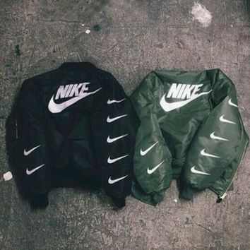ALPHA INDUSTRIES MA-1 BOMBER JACKET - NIKE One-nice™