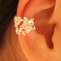 Rose on the Vine Single Ear Clip | LilyFair Jewelry
