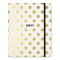 2017 - 17 Month Large Agenda in Gold Dots by Kate Spade New York