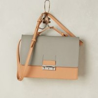 Joanna Maxham Awdry Structured Satchel in Cedar Size: One Size Bags