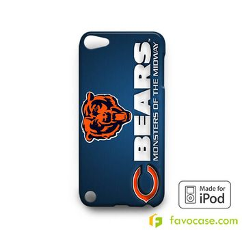 CHICAGO BEARS Football Team NFL  iPod Touch 4 5 6 Case