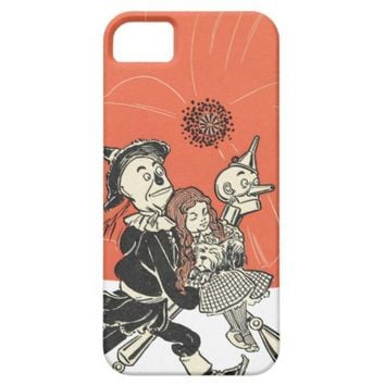 Wizard of Oz Dorothy and Poppies iPhone 5 Cases from Zazzle.com