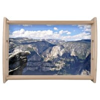 Yosemite National Park Formations Serving Tray