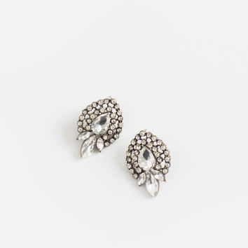 Pia Crystal Statement Earrings