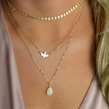 Love Of A Goddess Opalite Necklace
