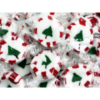 Brach's Peppermint Christmas Tree Nougats: 40-Piece Bag