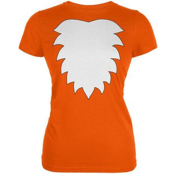 CREYCY8 Fox Costume Orange Juniors Soft T-Shirt