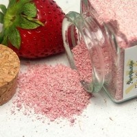 Organic Strawberry Facial Scrub Sample Size Natural and eco-friendly | Herbolution - Earth Friendly on ArtFire