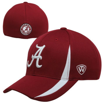 Top of the World Alabama Crimson Tide Triumph One-Fit Flex Hat - Crimson