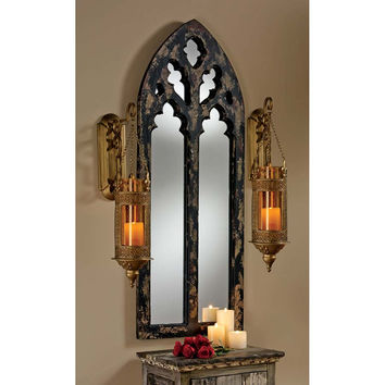 Park Avenue Collection Gothic Cathedral Arch Mirror
