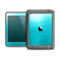 The Light Blue Slanted Streaks Apple iPad Mini LifeProof Nuud Case Skin Set