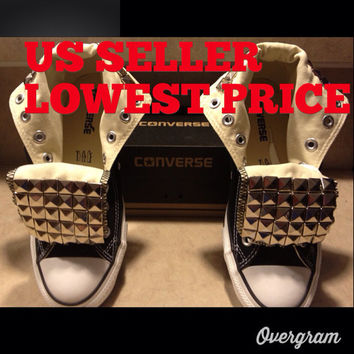 Studded Converse All Star Chuck Taylor's Any by LoveChuckTaylors