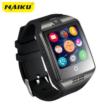 NAIKU Passometer Smart Watch with Touch Screen Camera TF Card Bluetooth Smartwatch for Android IOS Phone