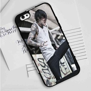 Suicide Silence (grey crouch) iPhone Case