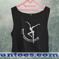 DMB Dave Matthews Band Fire Dancer Logo Womens Crop Tank